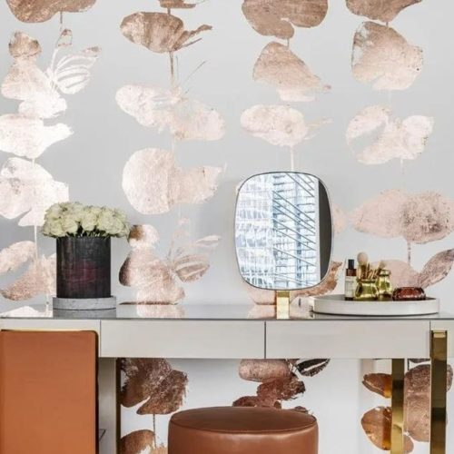 COLUMBIA ROAD WALLPAPER | COPPER