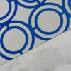 PALLADIAN LOOP WALLPAPER   NAVY BLUE
