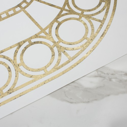 PALLADIAN WALLPAPER | GOLD