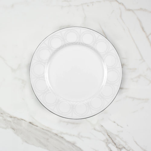 PALLADIAN SIDE PLATE | BROOKLYN WHITE