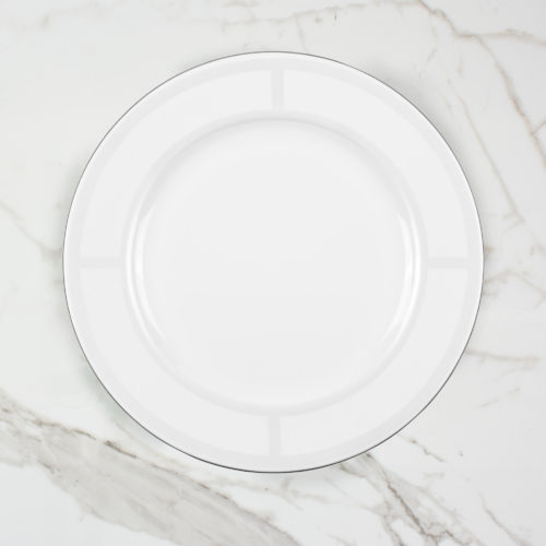 PALLADIAN DINNER PLATE | BROOKLYN WHITE