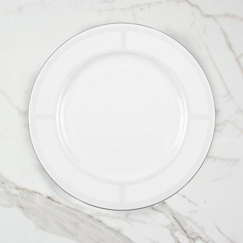 PALLADIAN DINNER PLATE | BROOKLYN WHITE