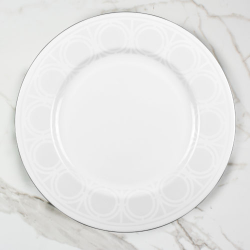 PALLADIAN SERVING PLATE | BROOKLYN WHITE