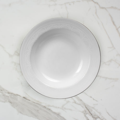 PALLADIAN SOUP BOWL | BROOKLYN WHITE