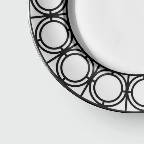 PALLADIAN BLACK SIDE PLATE