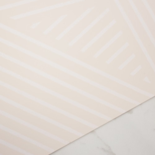 OBLIQUE WALLPAPER | APRICOT