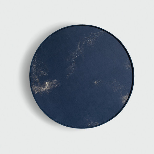 IGNEOUS-NAVY-FRAMED