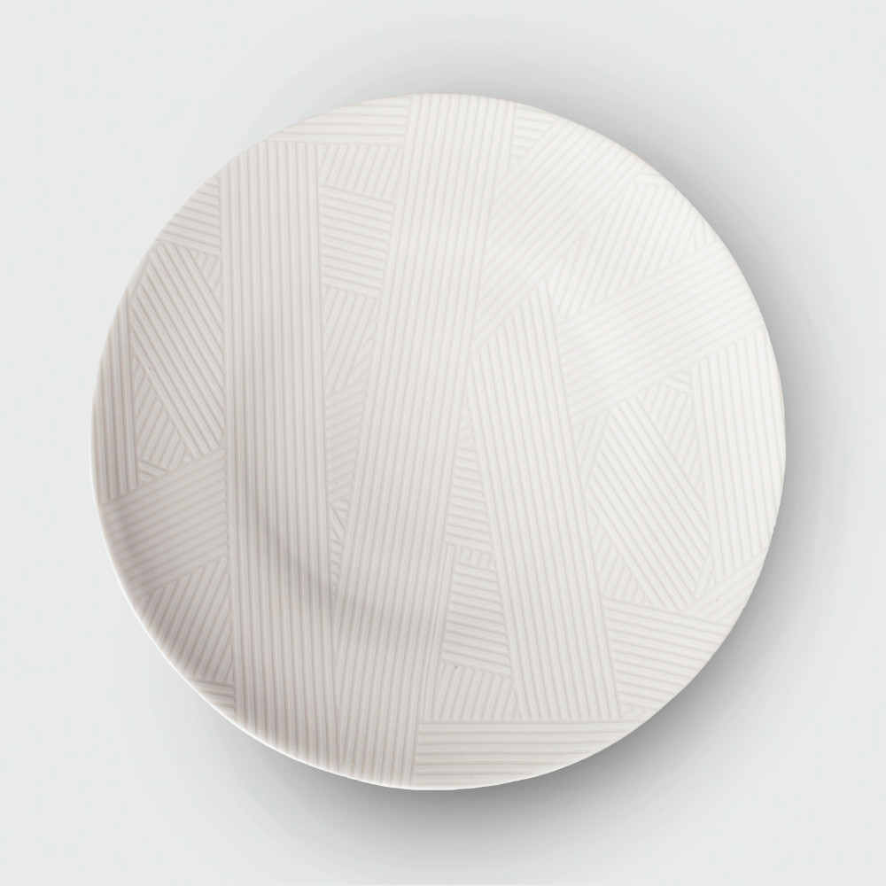 Oblique dinnerplate