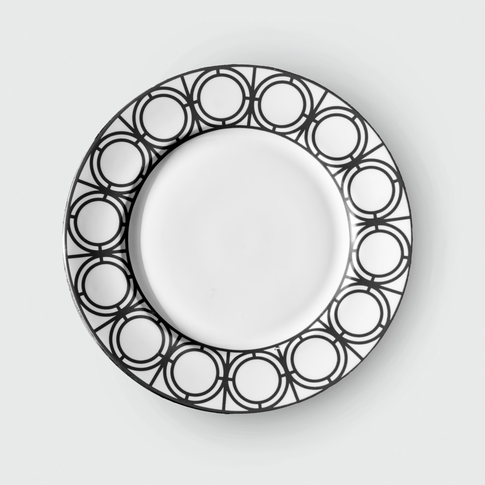 Palladian sideplate Black(colour bg cut out)