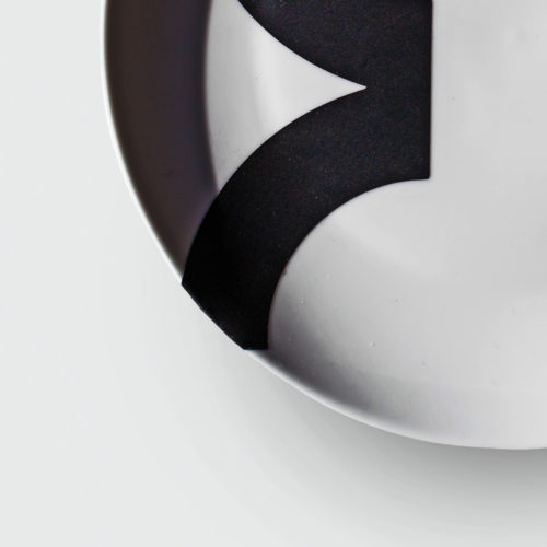 CONTOUR COUPE PLATE | WHITE