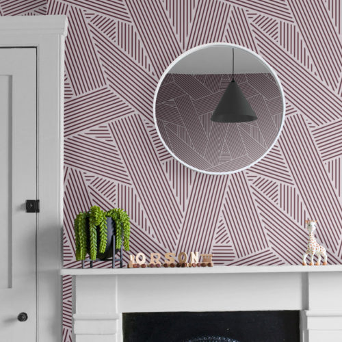 CUSTOM COLOUR : Oblique Wallpaper