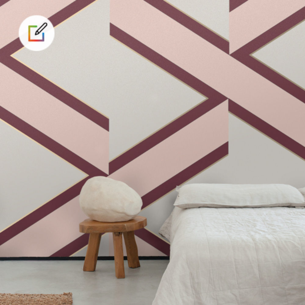 WALLPAPER BY YOU : Accent Wallpaper