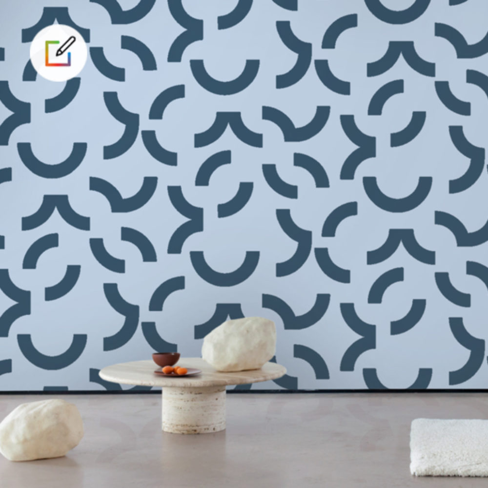 WALLPAPER BY YOU : Overscale Contour Wallpaper