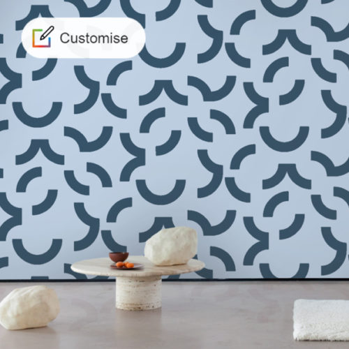 CUSTOM COLOUR : Contour Wallpaper