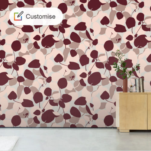 CUSTHOM MADE FOR YOU : Floral Wallpaper