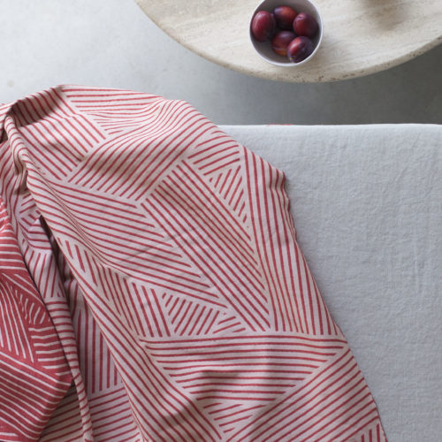 OBLIQUE FABRIC | GRAPEFRUIT